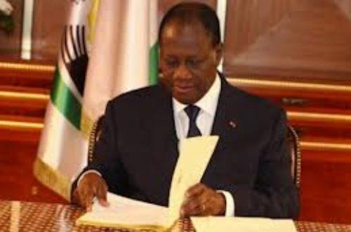 Article : Côte d'Ivoire, Ouattara nomme des Drh dans les ministères