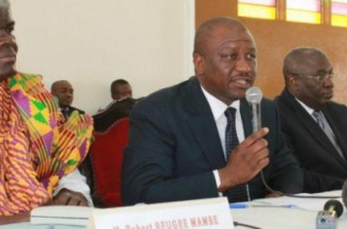 Article : Abidjan: Hamed Bakayoko crache ses vérités au peuple Atchan