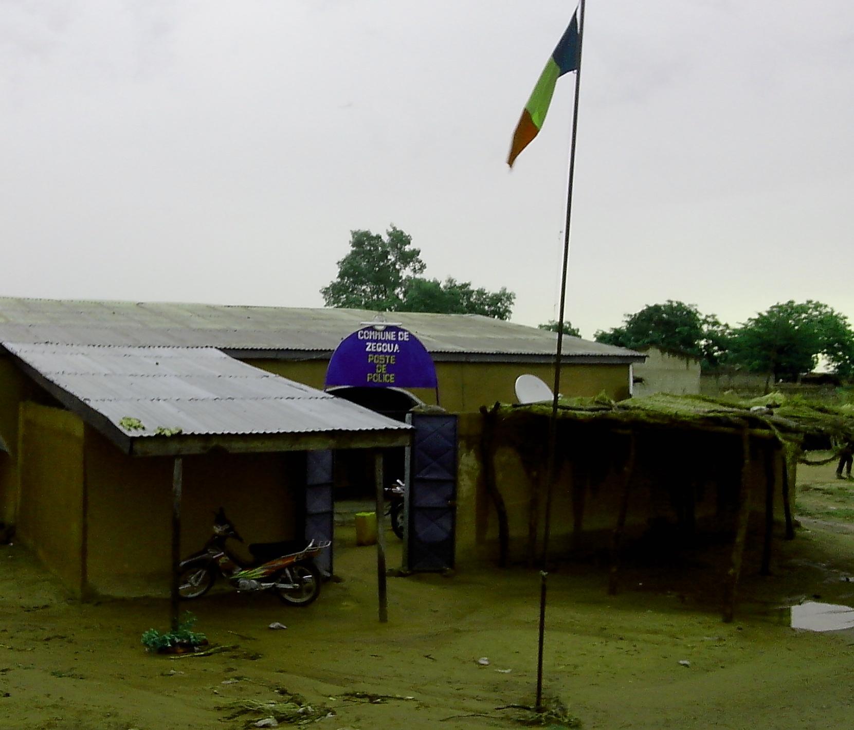 Le poste de police de la commune de Zégoua (Mali). (crédit photo: FBI)