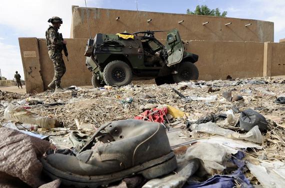Les islamistes ont subi de lourde perte depuis le déclenchement de l'opération Serval. (crédit photo: lesechos)