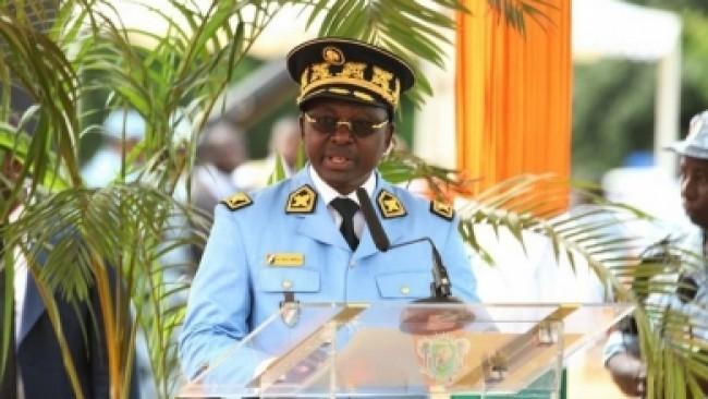 Général Alain Yao Brou, ex DG de l'Ecole nationale de police d'Abidjan. photo: DR