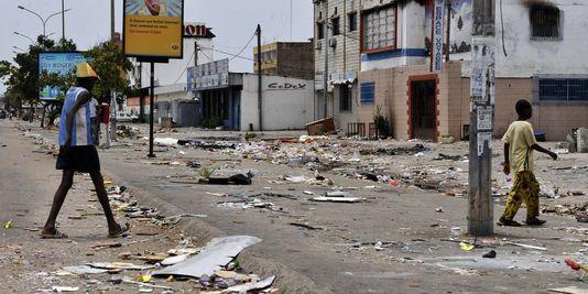 Ce que Abidjan était devenu, après 6 mois de crise post-électorale en 2011. Photo: DR