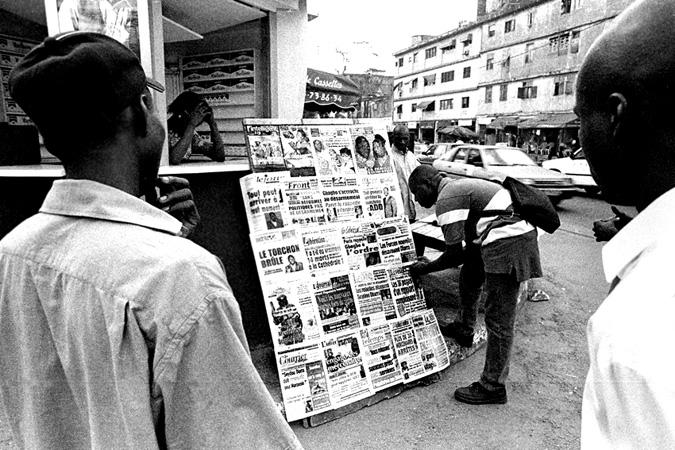 """Le phénomène des """"titrologues"""" a pris de l'ampleur en Côte d'Ivoire. crédit photo:François-Xavier Gbré"""