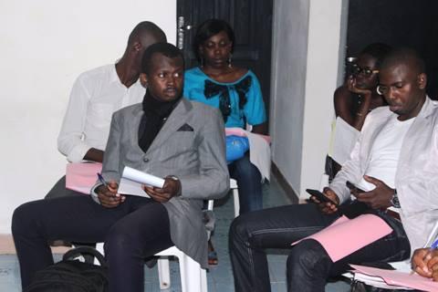 Barcely Yorobi et Moussa Bamba, en ligne de mire. crédit photo: E-voir