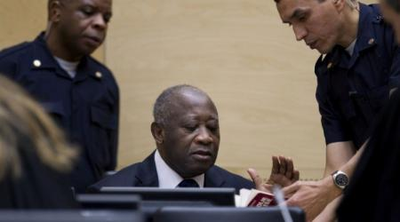 Laurent Gbagbo, lors de son audience de confirmation ou pas des charges retenues contre lui, à la CPI. crédit photo:DR