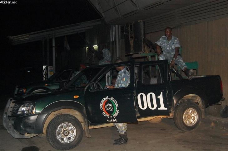 Le CECOS, une unité spéciale qui était censée sécurisé les populations... crédit photo: DR