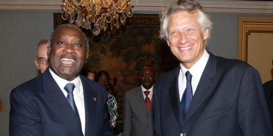 M. de Villepin, alors ministre des affaires étrangères, a été l'âme des accords de Linas-Marcoussis, destinés à résoudre la crise ivoirienne en 2002. crédit photo: INA.fr