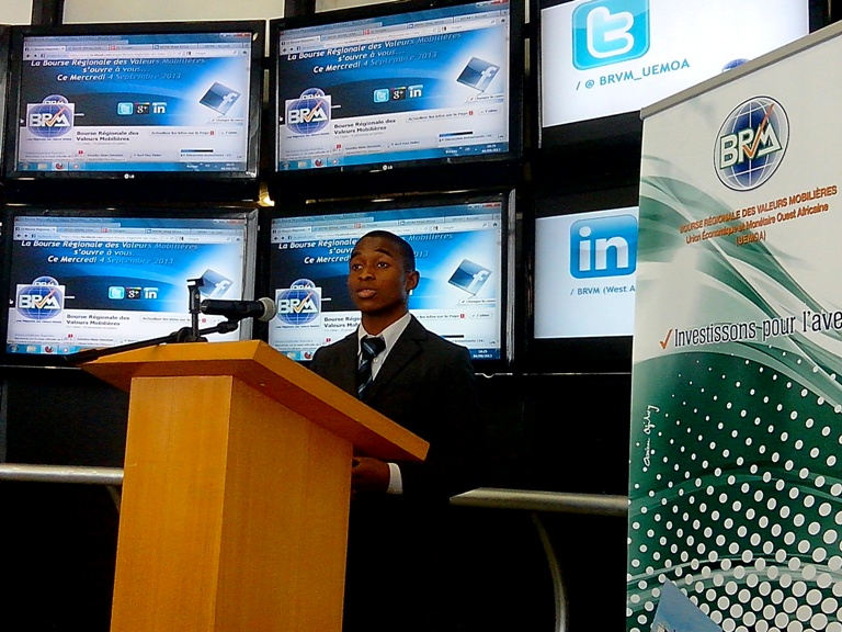 Le jeune Emmanuel Assouan, Maire du Web ivoirien. crédit photo: FBI