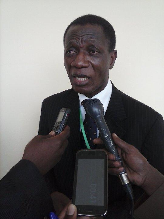 """Ebenezer Guébo Dja, initiateur du projet """"Wikimédia Côte d'Ivoire"""". crédit photo: FBI"""