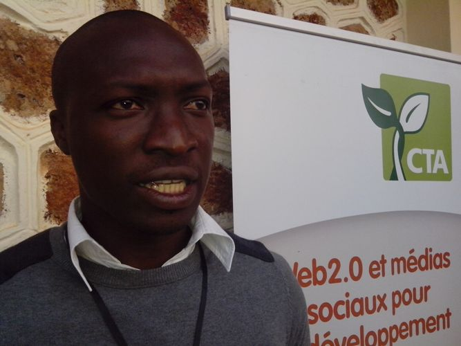Claude Adjehi, Responsable communication du Centre international de recherches en Agro-foresterie (ICRAF). Ph: FBI