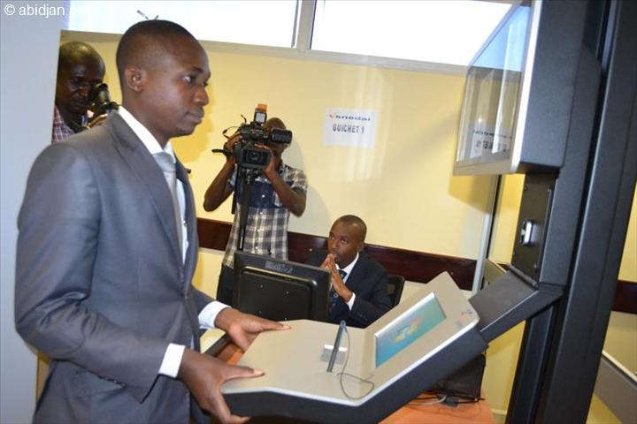 Une procédure de demande du E-visa en Côte d`Ivoire. Photo (DR)