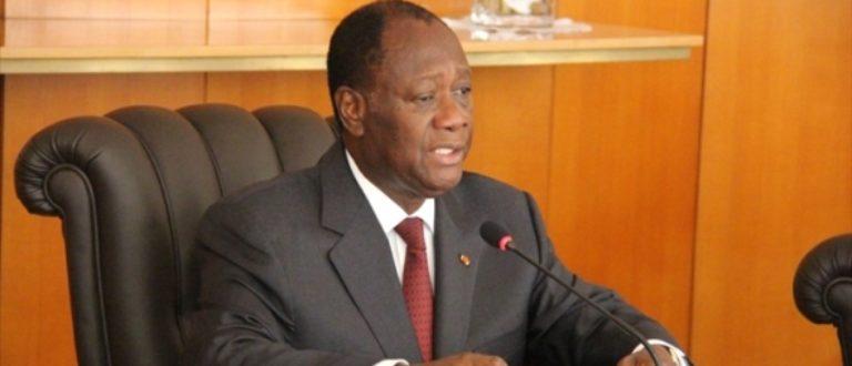 Article : Opéré d'une sciatique, des Ivoiriens craignent pour Ouattara…