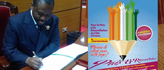 Le président du Parlement ivoirien, Guillaume Soro. Ph: DR