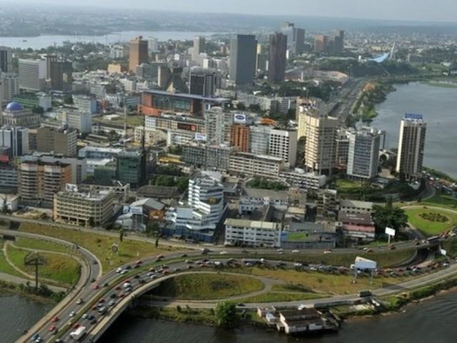 Plateau, le quartier des affaires de la ville d'Abidjan / Ph: DR