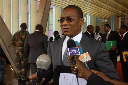 Koné Bruno Nabagné, porte-parole du gouvernement ivoirien. Ph: DR