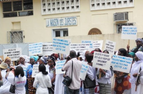 Article : Commission électorale, les femmes ivoiriennes crient à l'exclusion