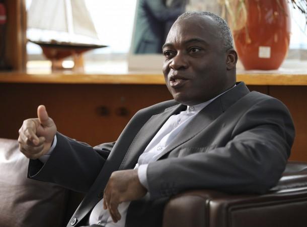 Don Mello, l'un des activistes notoire parmi les pro-Gbagbo. Ph: DR