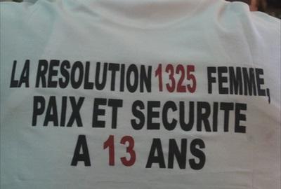 Les femmes ivoiriennes réclament l'application des textes ratifiés par la Côte d'Ivoire. Ph: Dr