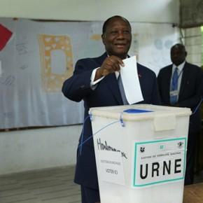 Alassane Ouattara (Président du RDR)