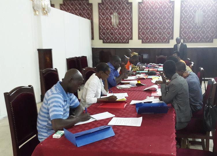 Le blogging pour ''démystifier'' le fonctionnement du Parlement. Ph: Moussa Bamba
