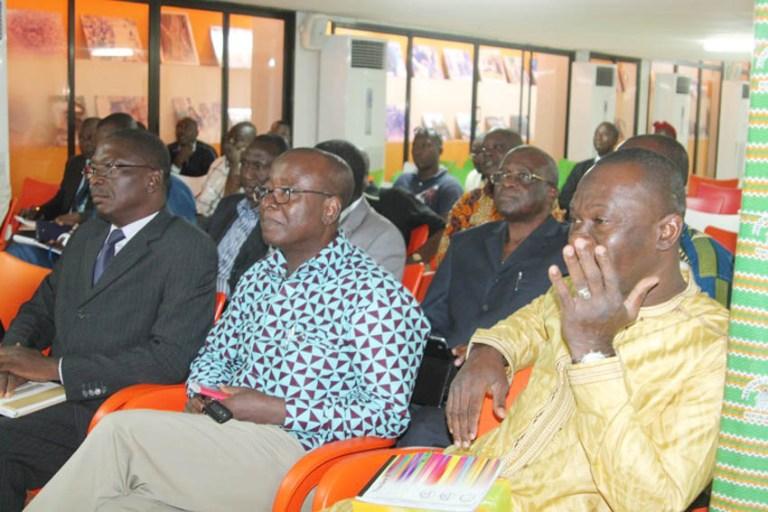 Des secrétaires départementaux, lors d'une rencontre au siège du parti au pouvoir. Ph: Pams