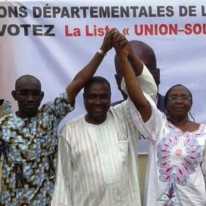 """La liste """"Union-Solidarité"""" de Yéo Brahima gagne un gros soutien. Ph: Dr"""