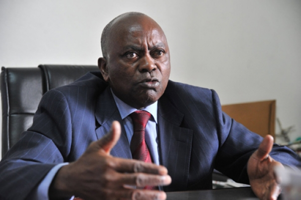 Anaky Kobenan, président du Mfa, est très remonté contre le pouvoir d'Abidjan. Ph: Dr
