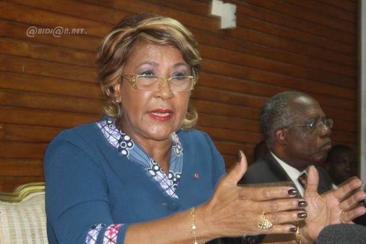 Danièle Boni Claverie, première vice-présidente de l'Afd.