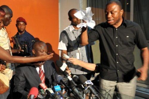 En 2010, les partisans de Laurent Gbagbo ont tenté de bloquer les résultats de l'élection présidentielle. Ph: Dr