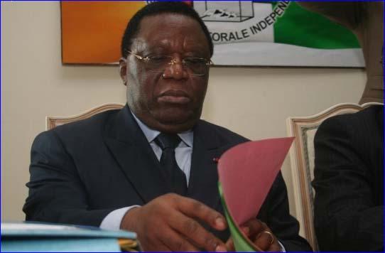 Youssouf Bakayoko, réélu président de la Commission électorale ivoirienne. Ph: Dr