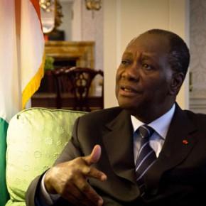 Le président de la République de Côte d'Ivoire, Alassane Ouattara, en colère contre l'opposition ivoirienne. Ph: Dr