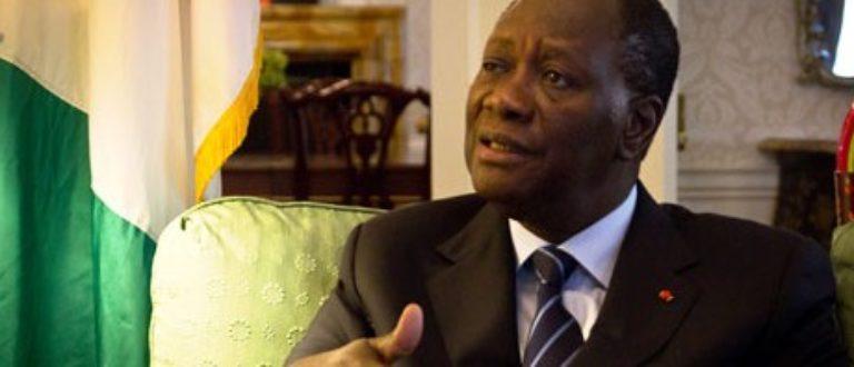 Article : Tournée présidentielle, Ouattara sort l'épée