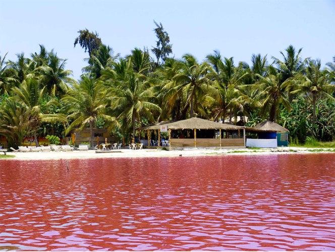 Après l'île de Gorée, le Lac rose est l'endroit le plus visité au Sénégal. Ph: DR