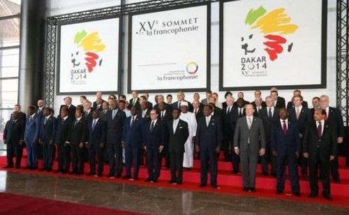 A l'ouverture du XVème sommet de la Francophonie à Dakar, une trentaine de chef d'Etat et de gouvernement était présente. © OIF