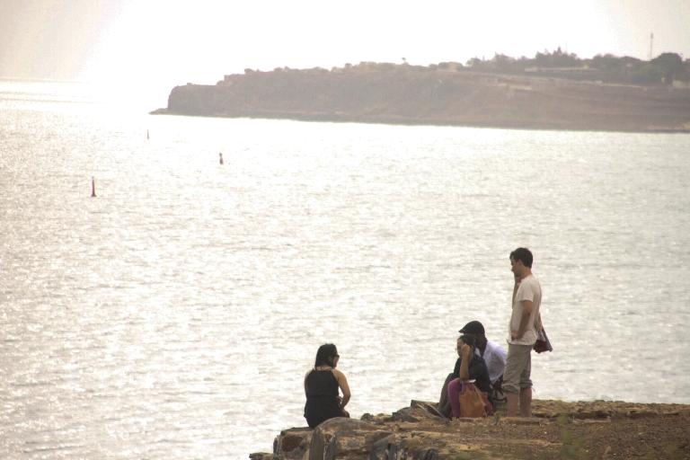 Les VIF 2014 n'ont pas boudé leur plaisir en allant sur l'île de Gorée. © Théo