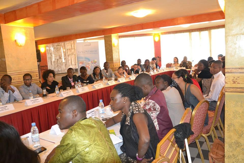 Les VIF 2014 ont suivi plusieurs formations lors de la session de préparation de Dakar. © Théo