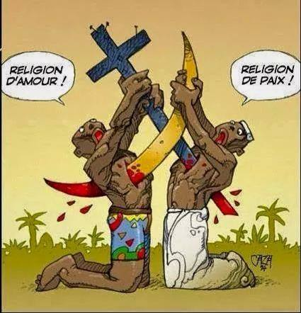 Caricature d'un internaute sur facebook.