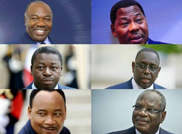 Je ne m'adresse pas seulement aux six présidents africains qui ont pris part à la marche de Paris. Infographie: radioafrikana