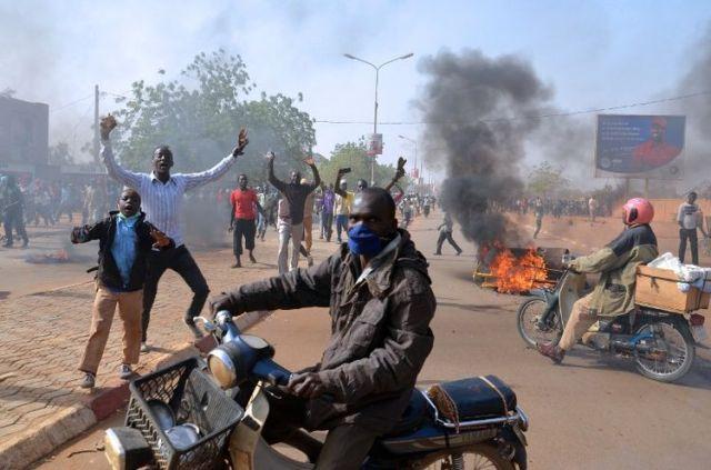 Au Niger, dans les protestations, les choses sont allées de mal en pire. Ph Afp