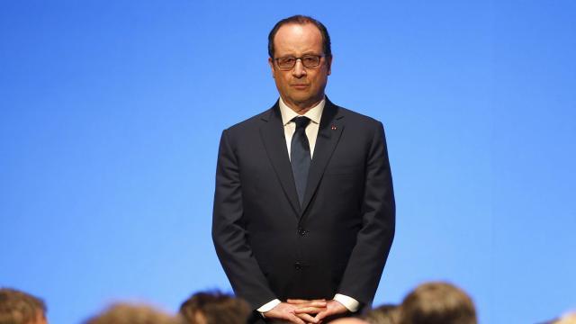 Hausse spectaculaire de popularité de François Hollande après les attentats de Charlie Hebdo. | AFP