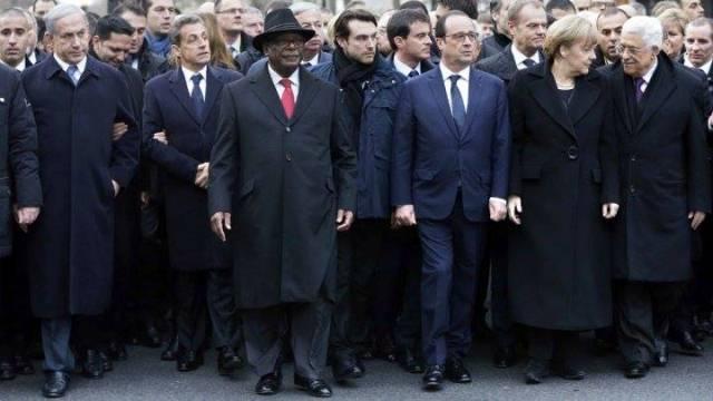 le président malien, à la marche du dimanche 11 janvier 2015 à Paris. Ph: DR