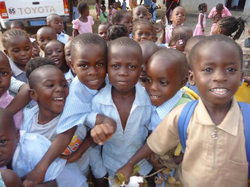 Des écoliers ivoiriens, dans le viseur des tueurs. Ph: Dr