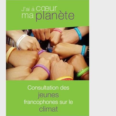 logo pour Consultation de la jeunesse francophone sur le climat. © OIF