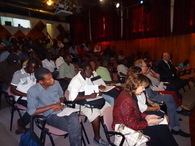 Plusieurs diplomates et chefs d'Institutions francophones étaient présents à cette conférence. © BRPC