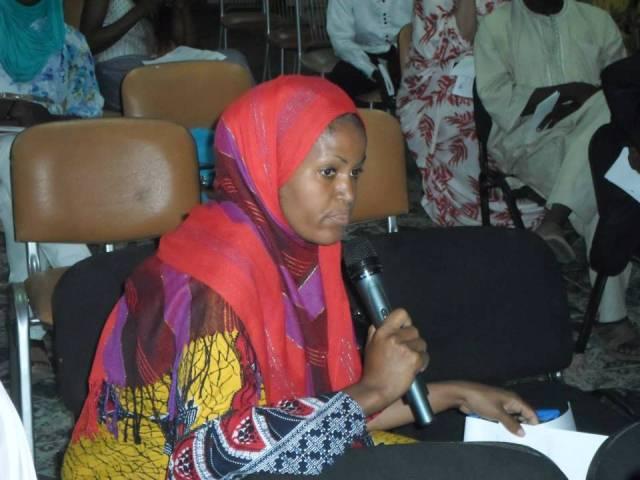 Awa Seydou, Hotèl Cheguiti Place (Mauritanie) © Dame Ba