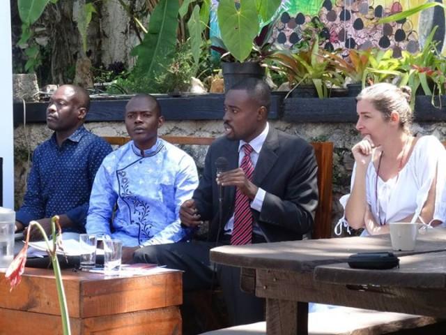 Wilney Taris, mondoblogueur et communicateur au Sénat de la République d'Haïti © OIF-BRPC