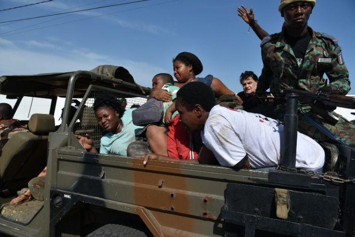 Une image démontrant également la gravité de l'attaque © AFP par SIA KAMBOU