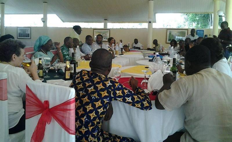 Déjeuner de presse OIF, Journalistes et Stylystes au MASA 2016, Abidjan (Ph: FBI)