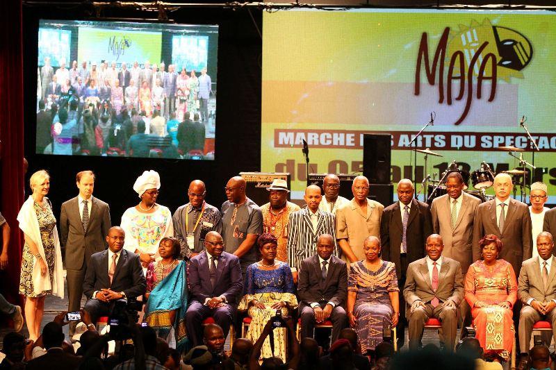 Ouverture officielle de la 9ème cérémonie du Masa 2016, avec toutes les personnalités (Ph : LifeMag)