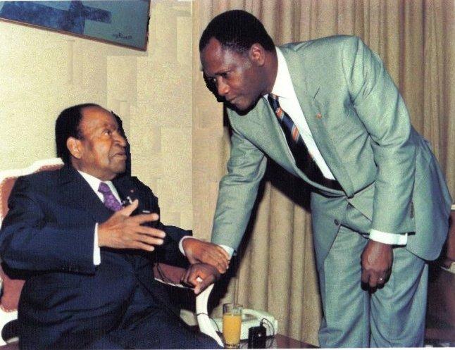 Lorsque ADO était sous le contrôle du président Houpouët-Boigny. PH: DR